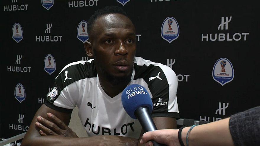 Usain Bolt: Traumziel Fußballprofi