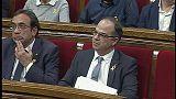 Jordi Turull no logra los votos necesarios para ser investido