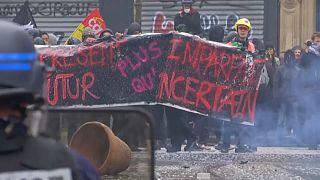 La era Macron vive su primera gran protesta social