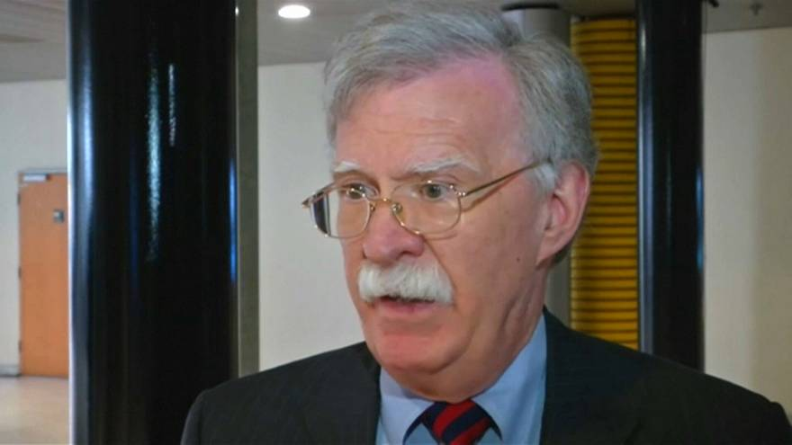 Trump replaces National Security Adviser H.R. McMaster with John Bolton