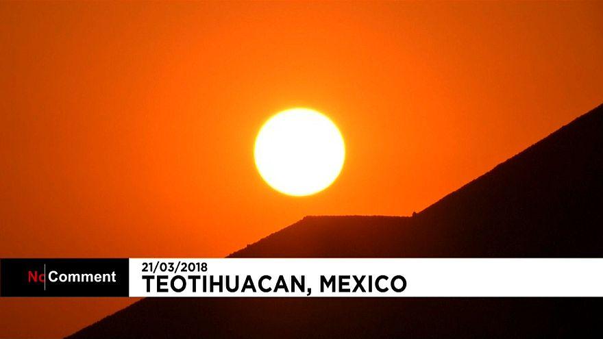 Direction le Mexique pour fêter l'équinoxe de printemps