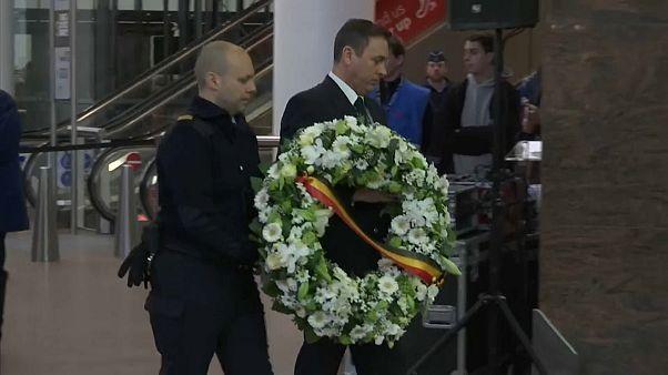 Deux ans après, la Belgique commémore les attentats de Bruxelles