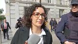 """Marta Rovira se marcha """"al exilio"""" y no declarará ante el Tribunal Supremo"""