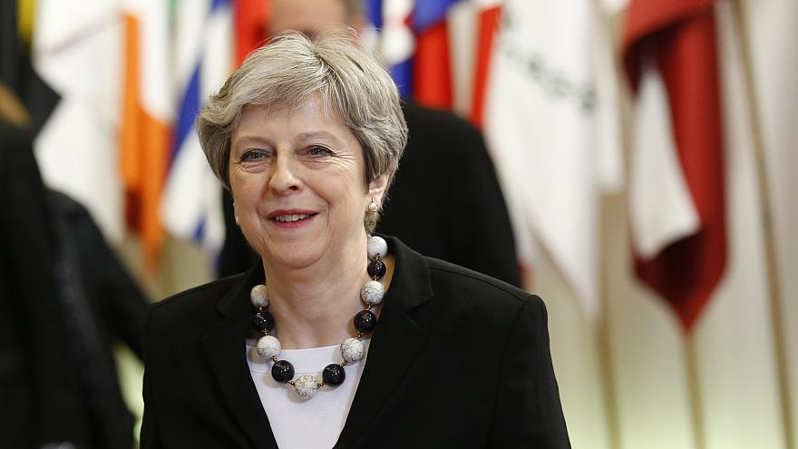 Theresa May welcomes EU's Brexit transition offer