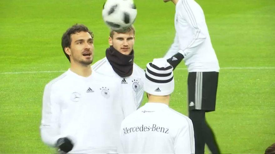 WM-Testspiel: Deutschland gegen Spanien