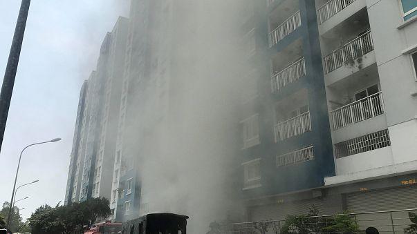 Incendie meurtrier au Vietnam