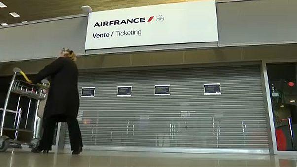 Sztrájkolnak az Air France dolgozók