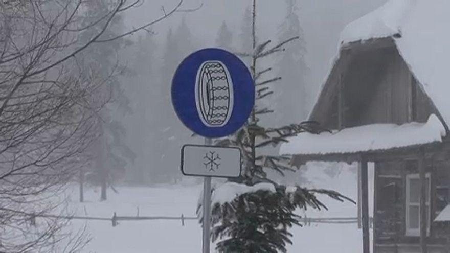 Hókáosz Romániában