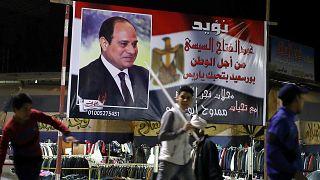 Réélection attendue d'Al-Sissi en Egypte