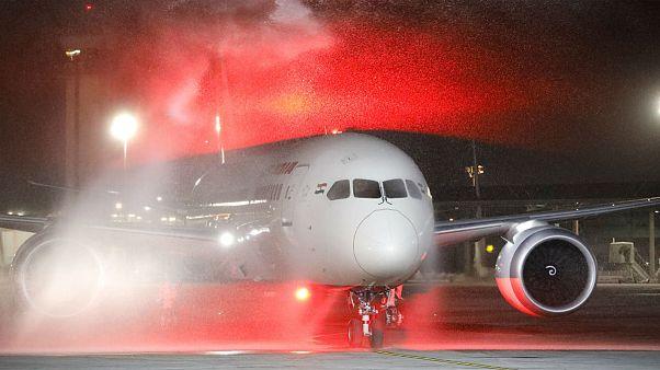 Átrepülhetnek Szaúd-Arábia felett az Izraelbe érkező gépek