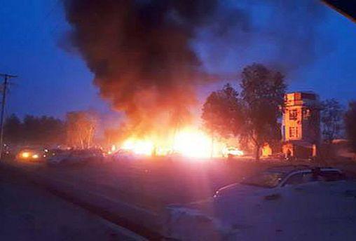 دستکم ۱۵ کشته در پی انفجار خودرو در شهر لشکرگاه افغانستان