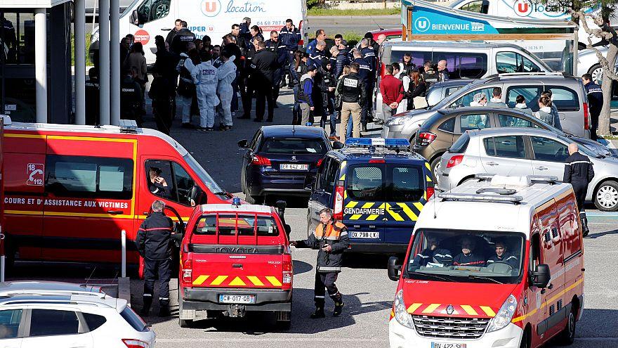 Geiselnahme in Supermarkt: Offenbar islamistischer Angriff bei Carcasonne