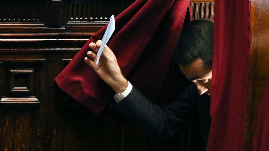 Wahl der Parlamentspräsidenten: Leere Stimmzettel in Rom