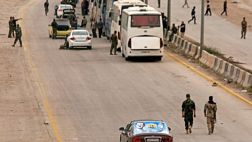Ghouta orientale : des rebelles ont négocié leur départ