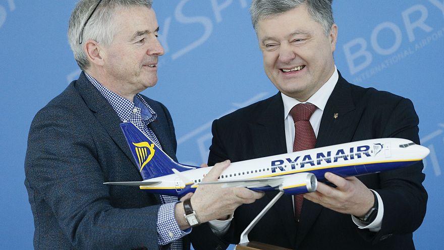 Ryanair fliegt in die Ukraine