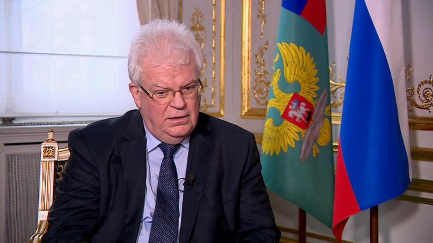 Russia's ambassador to the EU downplays detoriorating relations with the bloc