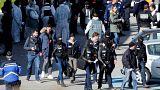 Fin prise d'otages à Trèbes, France.