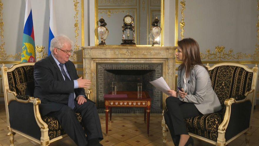 """Caso Skripal, l'ambasciatore russo in Ue a Euronews: """"Non lascio"""""""