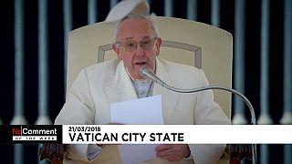 Papst ist wie vom Winde verweht