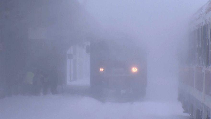 Nevões causam estragos no leste europeu