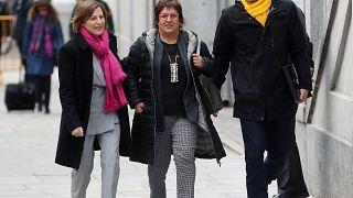 Katalanische Politiker müssen erneut in Haft