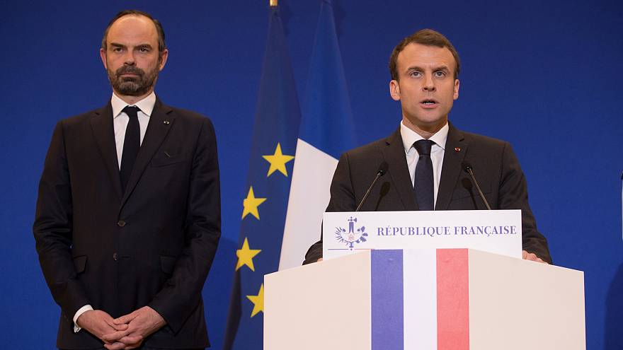 """ماكرون: فرنسا تعرضت لهجوم """"إرهابي إسلامي"""""""