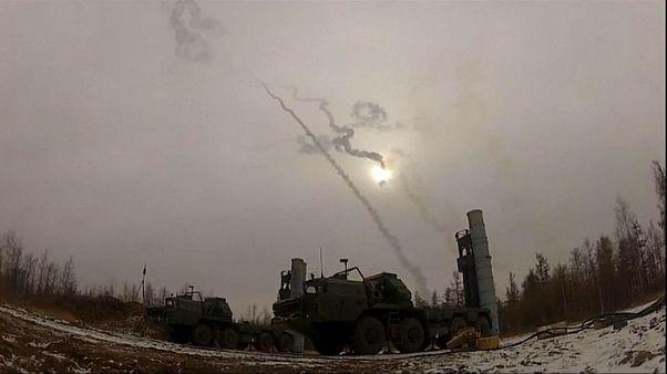 ویدئوی آزمایش موشک «S-300» در سیبری