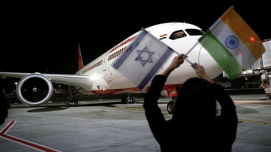 Suudi hava sahası ilk kez İsrail uçusuna açıldı