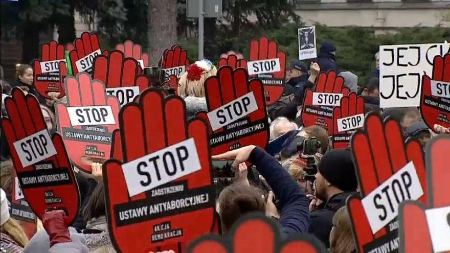Protestas en Polonia a las restricciones al aborto