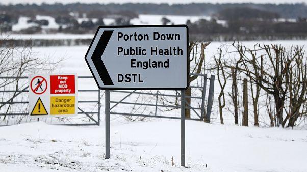 Il centro di ricerca di Porton Down