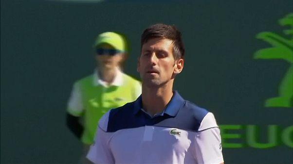 Master 1000 de Miami: Cae Djokovic, vence Del Potro