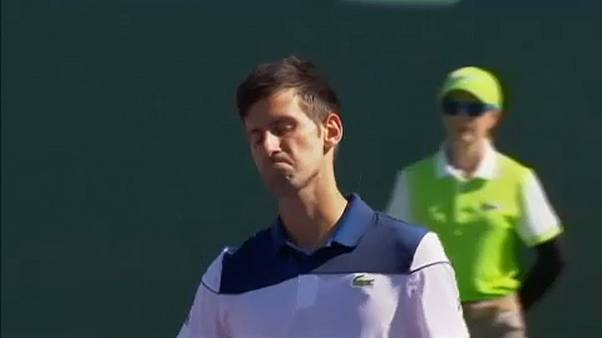 Novak Djokovic kiesett Miamiban