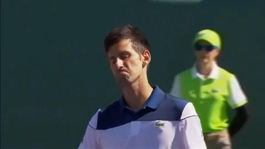 Novak Djokovic kiesett Miamiban