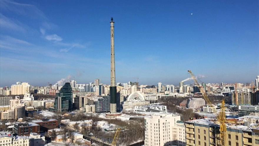 Time runs out for unfinished TV tower in Yekaterinburg