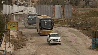 132.000 personas logran salir de Guta Oriental