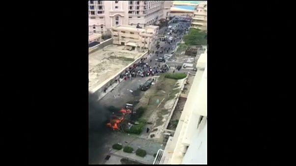 شاهد: اللحظات الأولى لانفجار الإسكندرية الذي استهدف سيارة مدير الأمن