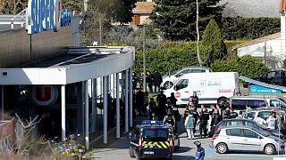 محل گروگانگیری در حملات تروریستی جنوب فرانسه