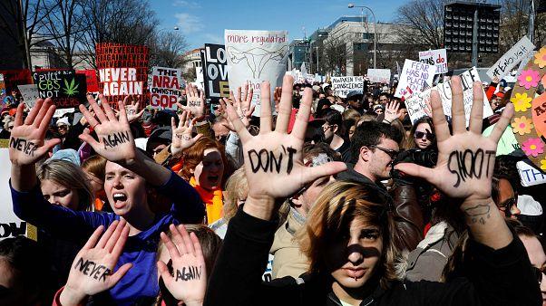 Marcha contra uso de armas espera 500 mil pessoas em Washington