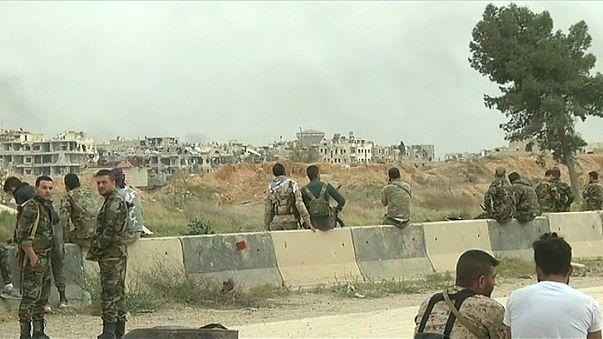 Mais de cem mil civis abandonaram Ghouta Oriental