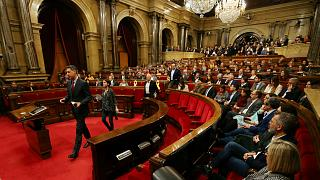 Präsidentenwahl in Katalonien unterbrochen