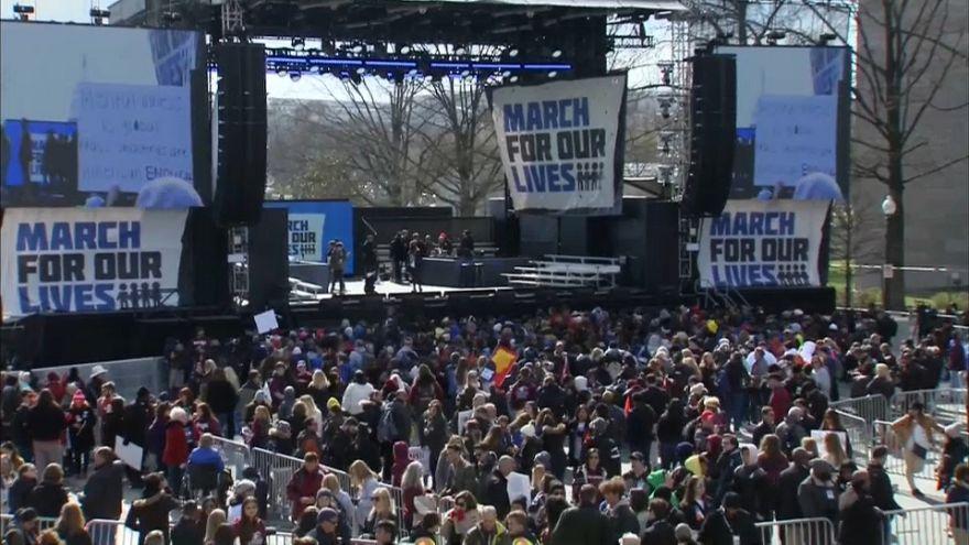 La 'Marcha por Nuestras Vidas' toma las calles de Estados Unidos