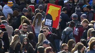 March for our Lives: Anti-Waffen Protest in den USA