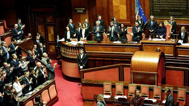 Iταλία: Συμφωνία και εκλογή προέδρων Γερουσίας και Βουλής
