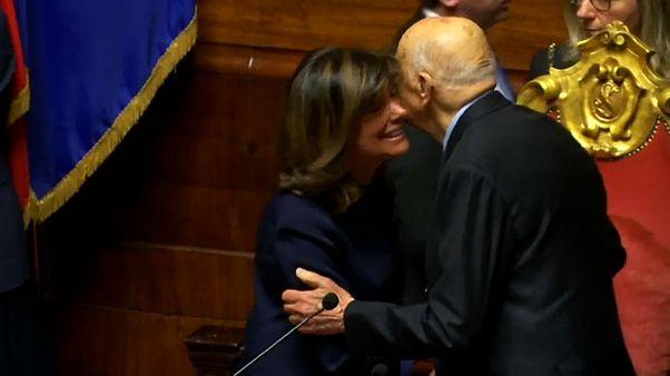 Сенат Италии впервые возглавила женщина