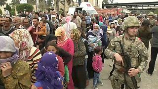 شاهد: الجيش التركي يبسط سيطرته على كامل منطقة عفرين