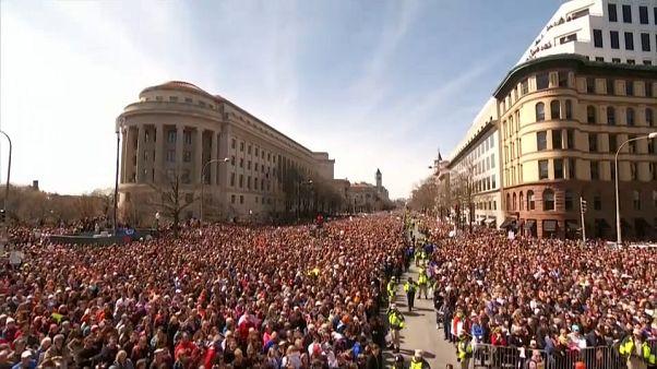 ABD'de silah karşıtı tarihi eylem