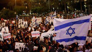 آلاف المتظاهرين بتل أبيب احتجاجا على  خطة الحكومة ترحيل المهاجرين الأفارقة