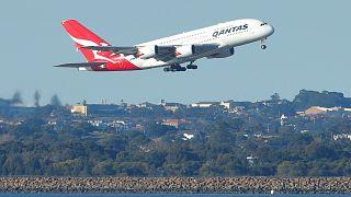 أول رحلة جوية مباشرة من أستراليا إلى بريطانيا