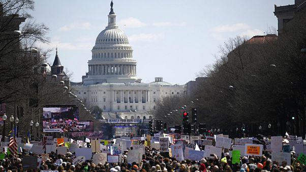 تظاهرات در واشنگتن