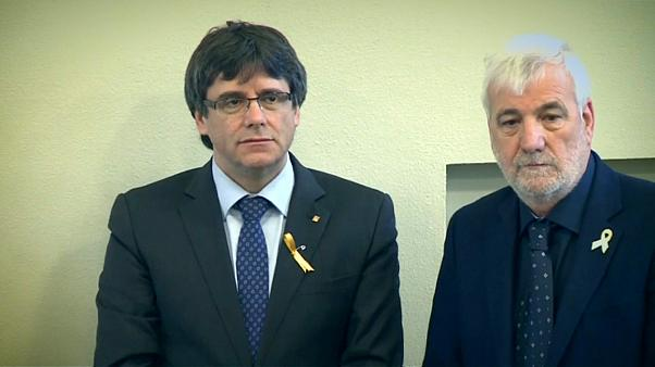 Carles Puigdemont has left Finland